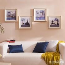 现代简约客厅装饰油画图片2