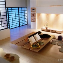 日式房间装修样板间5