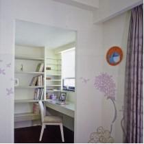 实木装修风格三室两厅客厅效果图8