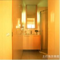 实木装修风格三室两厅客厅效果图1