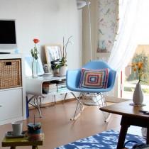 北欧风格二居卧室装修效果图片1