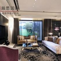 现代欧式风格卧室背景墙装修效果图2