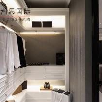 现代欧式风格卧室背景墙装修效果图1