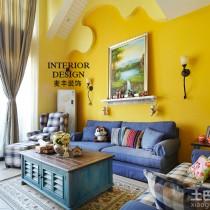 南意大利地中海风格小别墅装修效果图 (14 张图)