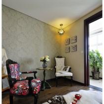 老上海风格二居室内装修效果图14