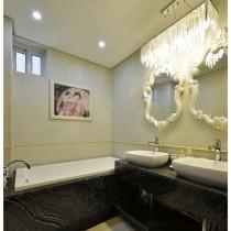 老上海风格二居室内装修效果图13