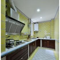 老上海风格二居室内装修效果图11