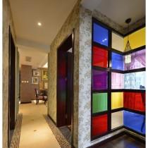 老上海风格二居室内装修效果图9