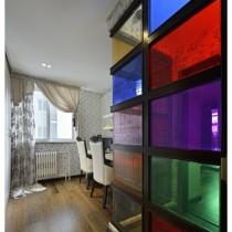 老上海风格二居室内装修效果图4