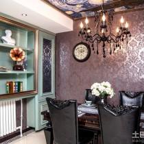 老上海风格二居室内装修效果图3