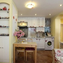 田园风格30平米小户型室内装修效果图大全11