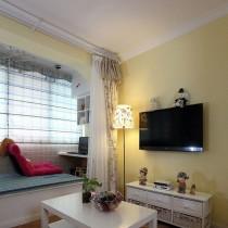 田园风格30平米小户型室内装修效果图大全8