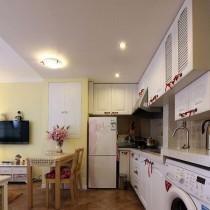 田园风格30平米小户型室内装修效果图大全7