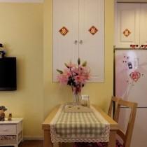 田园风格30平米小户型室内装修效果图大全6