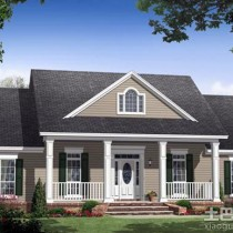 南方农村别墅房屋设计图 (10 张图)图片