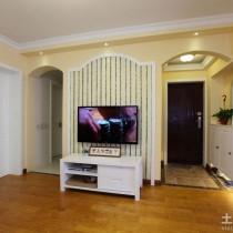 最新50平米小户型客厅装修效果图 (7 张图)