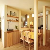 日式简约小户型装修餐厅效果图片8
