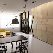 极简主义单身公寓设计图18