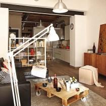 极简主义单身公寓设计图15