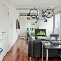 极简主义单身公寓设计图14