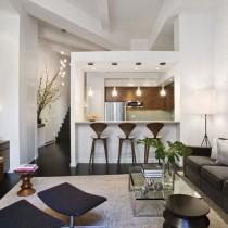 极简主义单身公寓设计图10