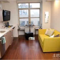 极简主义单身公寓设计图4