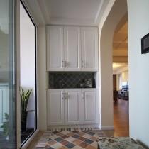 简美式小户型装修客厅实景图 (9 张图)图片