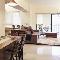日式简约三房两厅装修效果图6