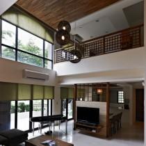 日式风格小别墅装修效果图2