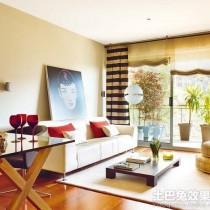 日式风格小户型客厅装修效果图大全2014图片6