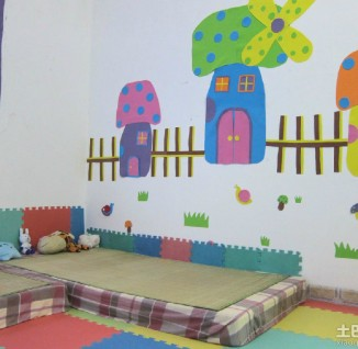 幼儿园小班墙面环境布置