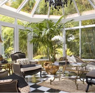 钢结构玻璃房效果图高清图片