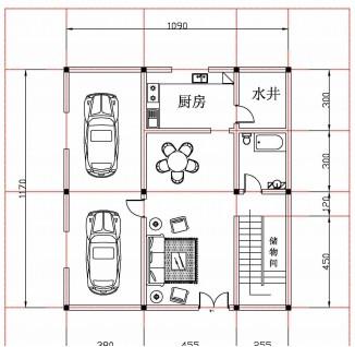 2间农村自建房设计图展示