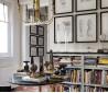 书房背景墙装修效果图片欣赏