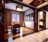 中式古典的四居室书房装修效果图大全