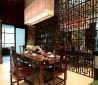 中式风格餐厅吊顶隔断装修效果图