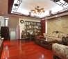 新中式客厅吊顶装修效果图欣赏
