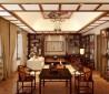 中式客厅博古架效果图大全