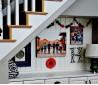 阁楼楼梯书桌装修效果图设计