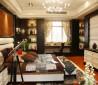 现代简约卧室吊顶装修设计图