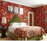 美式主卧室墙纸装修效果图
