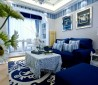 地中海风格房屋客厅装修设计图片