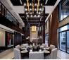 中式别墅餐厅吊顶装修效果图欣赏