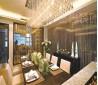 餐厅水晶灯吊顶设计