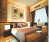 中式卧室床头挂画背景墙效果图
