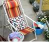家庭阳台单人休闲椅效果图