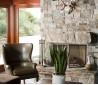 美式别墅客厅实木茶几效果图片