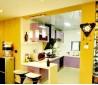 家装整体厨房吧台隔断效果图