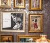 老上海风格家居照片墙效果图