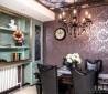 老上海风格餐厅餐边柜装饰效果图